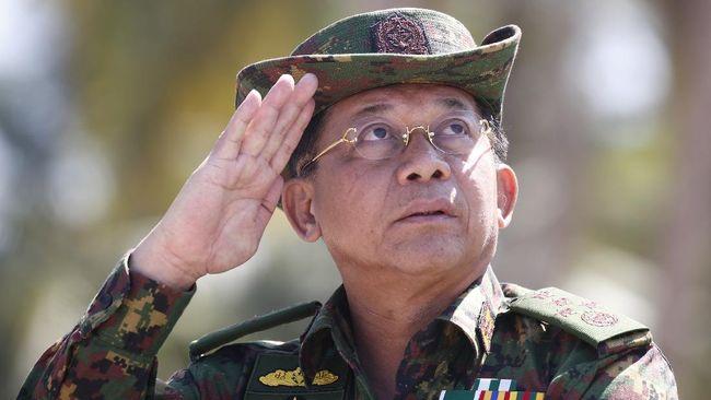 Pemimpin junta Myanmar Jenderal Min Aung Hlaing dilaporkan terbang ke Rusia untuk menghadiri konferensi internasional.