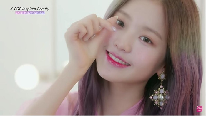 Juicy and Pure Make Up ala Jang Wonyoung IZ*ONE untuk Rayakan Valentinemu