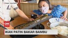 VIDEO: Ikan Patin Bakar Bambu