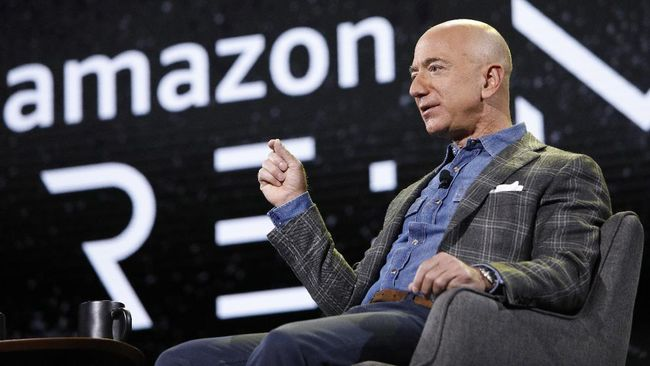Pendiri Amazon Jeff Bezos menjual saham perusahaannya senilai US$2,5 miliar.