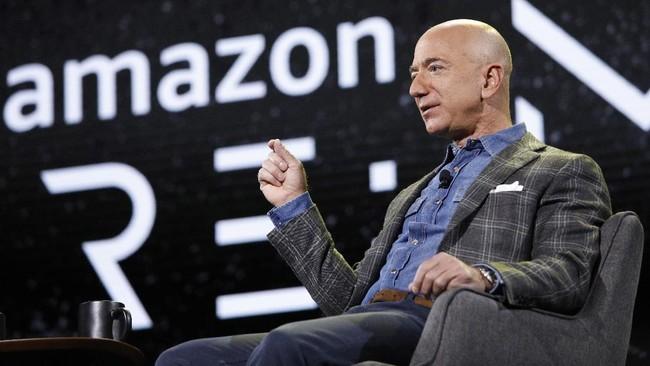 Jeff Bezos Jual Saham Amazon Rp36 T, Masih Orang Terkaya