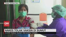 VIDEO: Nakes Tolak Vaksin di Sumut