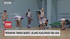 VIDEO: Persiapan Timnas Basket Jelang Kualifikasi FIBA Asia