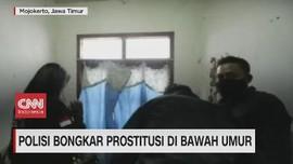 VIDEO: Polisi Bongkar Prostitusi di Bawah Umur