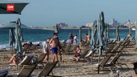 VIDEO: Negara Lain Tolak Turis, Dubai Kebanjiran Pelancong
