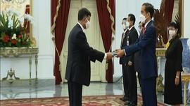 VIDEO: Presiden Jokowi Terima Surat Kepercayaan 7 Duta Besar