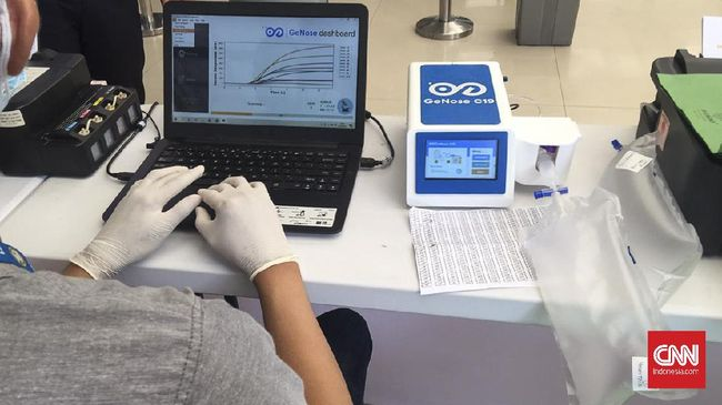 Ahli tagih publikasi ilmiah GeNose yang kini dipakai juga di bandara dan pelabuhan, penemu minta tunggu karena kajian masih berjalan.