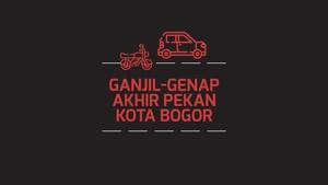 INFOGRAFIS: Ganjil-Genap Akhir Pekan Kota Bogor