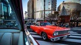 FOTO: Mengendus Mobil-mobil Retro AS dari Kolektor di Tokyo