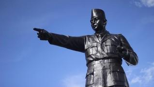 Tugu Soekarno di Palangka Raya Masuk Daftar Cagar Budaya