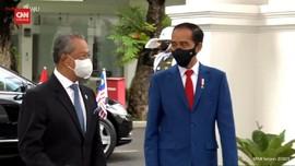 VIDEO: Presiden Jokowi Terima Kunjungan PM Malaysia