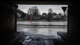 Prancis diterjang salah satu banjir yang disebut-sebut paling parah dalam empat dekade belakangan.