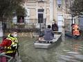 FOTO: Prancis Diterjang Banjir Terparah dalam Empat Dekade