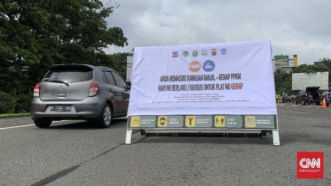 Bogor kembali menerapkan ganjil genap kendaraan bermotor mulai 23-25 Juli mendatang untuk menggantikan kebijakan penyekatan.