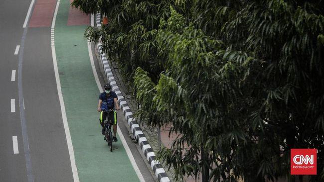 Kemenhub mendukung penambahan jalur sepeda di Surakarta, Purworejo, Salatiga, Klaten, Magelang, dan Palembang.