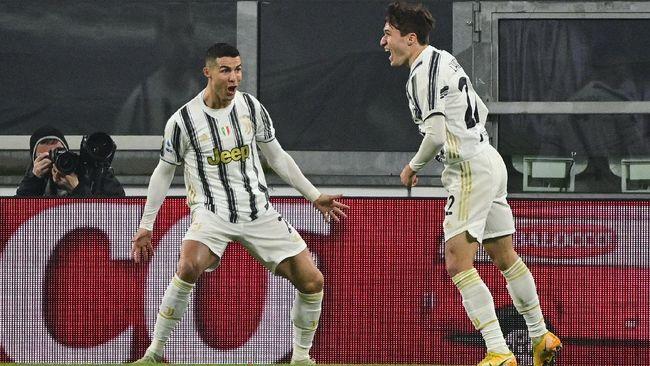Juventus sukses menang 3-0 atas Crotone dalam lanjutan Liga Italia dan membuat mereka menyodok ke tiga besar menggusur tiga tim sekaligus.