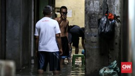 BPBD Sebut Banjir Jakarta Surut, Pengungsi Kembali ke Rumah