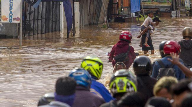 BPBD Provinsi Jawa Barat mencatat  daerah yang terkena banjir yakni Kabupaten Subang, Karawang, Bekasi, Cirebon, Bogor, Kota Depok, dan Kota Bekasi.