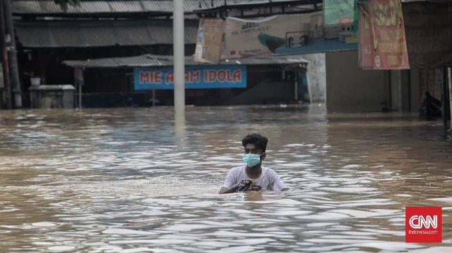Bocah Tewas Tenggelam di Kali Rawalumbu Saat Banjir Bekasi