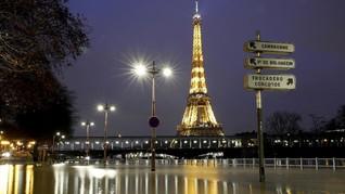 Corona Meningkat, Prancis Terapkan Lockdown Terbatas di Paris