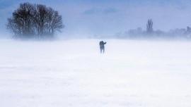 FOTO: Eropa Dilanda Cuaca Buruk, Suhu hingga -21 Derajat C