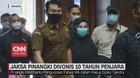 VIDEO: Jaksa Pinangki Divonis 10 Tahun Penjara