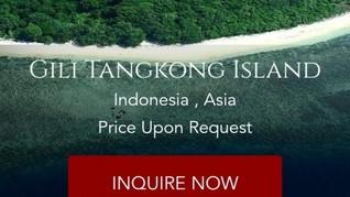 Pulau di Lombok Dijual via Situs Online