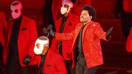 The Weeknd Tampil Solo dalam Super Bowl 2021