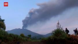 VIDEO: Abu Vulkanik Gunung Raung Sampai Pulau Bali
