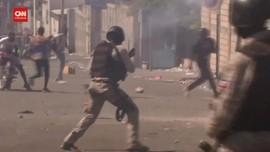 VIDEO: Unjuk Rasa Bentrok Tuntut Presiden Haiti Turun