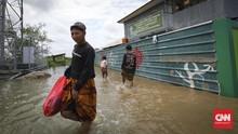 Banjir Bekasi Semalam Rendam 15 Titik di 6 Kecamatan