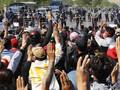 Tolak Kudeta, Dubes Myanmar di PBB Pasang Simbol 'Tiga Jari'