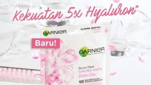 Garnier Sakura Water Glow Serum Mask