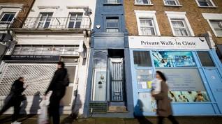FOTO: Mengintip Rumah Paling Tipis di London Seharga Rp18 M