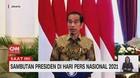 VIDEO: Sambutan Presiden Jokowi di Hari Pers Nasional 2021
