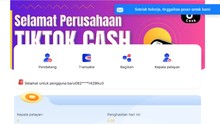 Ilegal, Kegiatan TikTok Cash dan Snack Video Disetop