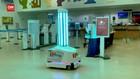 VIDEO: Bandara AS Kerahkan Robot Lawan Covid-19