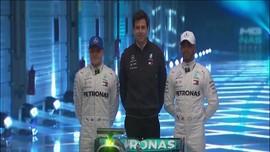 VIDEO: Mercedes Resmi Perpanjang Kontrak Hamilton