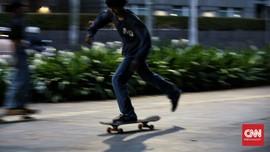 Usai Bertemu Anies, Skateboarder Tak Dilarang Main di Trotoar