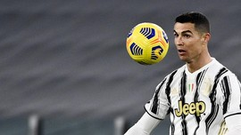 Top Skor Liga Italia: Ronaldo Makin Jauh di Puncak