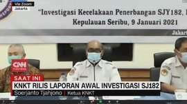 VIDEO: KNKT Rilis Laporan Awal Investigasi SJ182