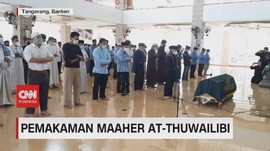 VIDEO: Pemakaman Maaher At-Thuwailibi