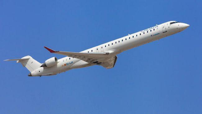 Spesifikasi pesawat Bombardier CRJ-1000 yang dikembalikan dan tak lagi disewa Garuda.