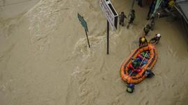 Hujan Deras di Sergai Sumut, 1.238 Rumah Terendam Banjir