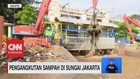 VIDEO: Pengangkutan Sampah di Sungai Jakarta