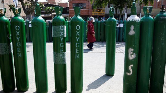インドネシアはさらに2,000本の酸素ボンベをインドに送る!