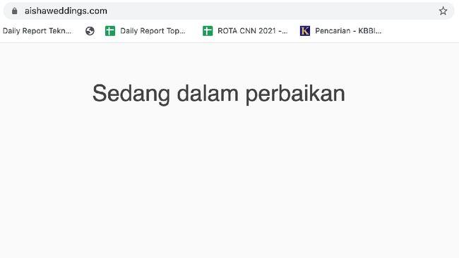 Menurut Pendiri Drone Emprit Ismail Fahmi, Aisha Weddings sebagai WO resmi tidak jelas keberadaannya baik secara online maupun offline.