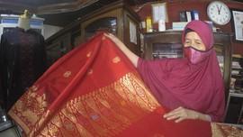 FOTO: Filosofi dalam Sehelai Kain Tenun Songket Silungkang
