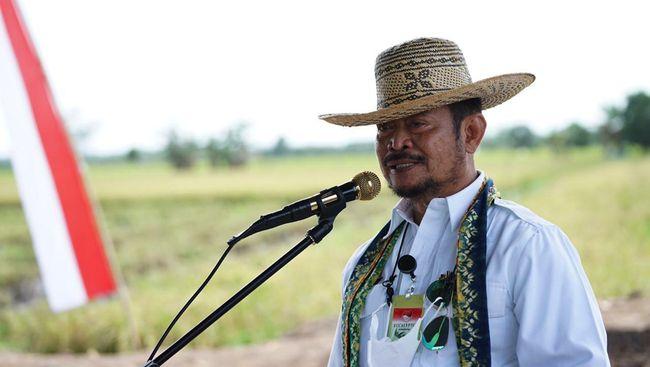 Menteri Pertanian Syahrul Yasin Limpo mengatakan vaksin terbaik adalah pangan yang cukup.