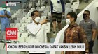 VIDEO: Jokowi Bersyukur Indonesia Dapat Vaksin Lebih Dulu